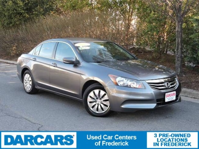 Used 2012 Honda Accord 2.4 LX Sedan Frederick