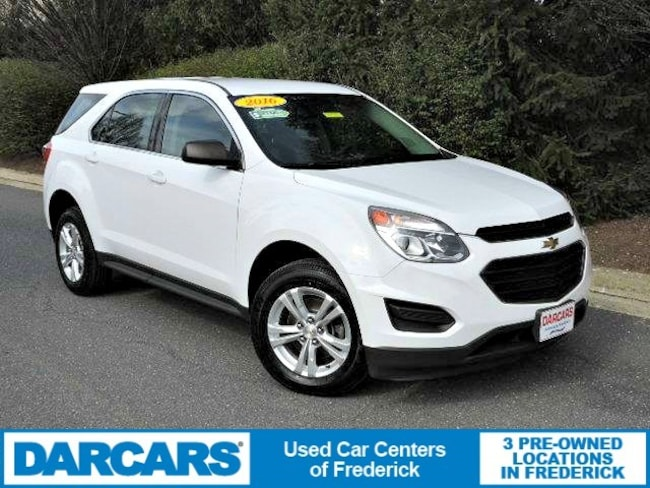 Used 2016 Chevrolet Equinox LS SUV Frederick