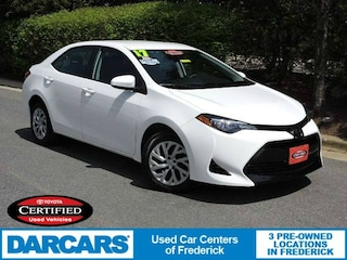 Certified 2017 Toyota Corolla LE Sedan in Frederick