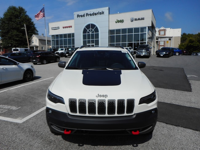 New 2019 Jeep Cherokee TRAILHAWK ELITE 4X4 Sport Utility For Sale Laurel, MD