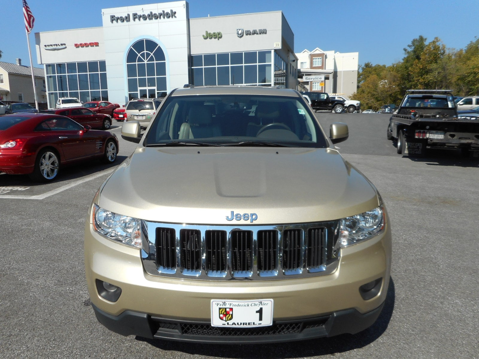 Used 2011 Jeep Grand Cherokee Laredo SUV For Sale Laurel, MD