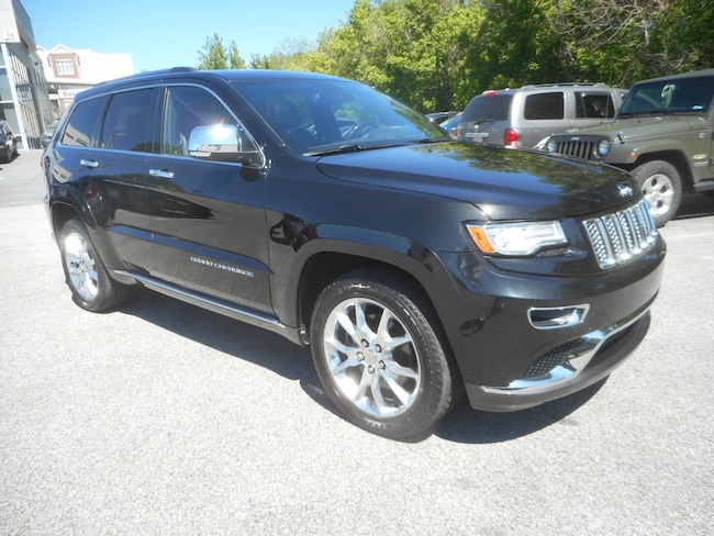 used 2014 jeep grand cherokee summit 4x4 for sale in laurel md near baltimore bowie silver. Black Bedroom Furniture Sets. Home Design Ideas