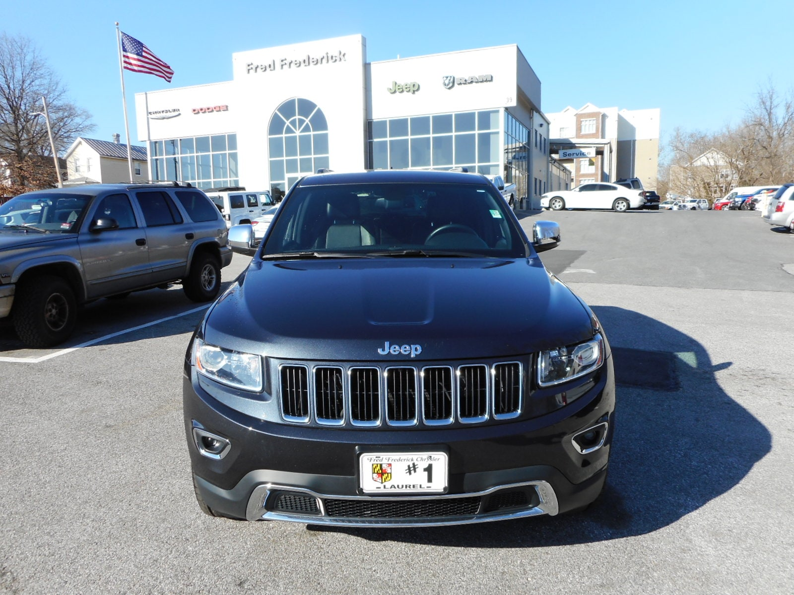 Used 2014 Jeep Grand Cherokee Limited 4x4 SUV For Sale Laurel, MD