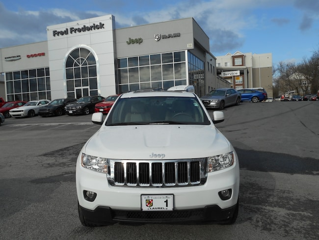 used 2013 jeep grand cherokee laredo for sale in laurel md near baltimore bowie silver. Black Bedroom Furniture Sets. Home Design Ideas