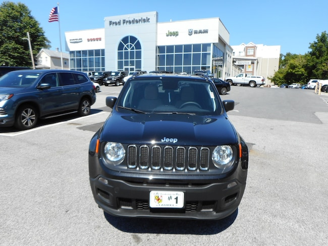 New 2018 Jeep Renegade SPORT 4X4 Sport Utility For Sale Laurel, MD