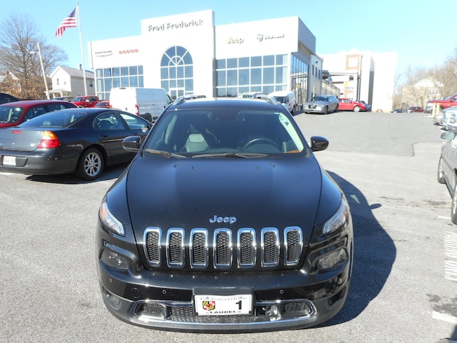 Used 2014 Jeep Cherokee Limited FWD SUV For Sale Laurel, MD