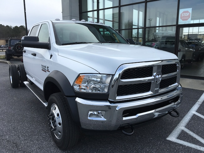 New 2018 Ram 5500 TRADESMAN CHASSIS CREW CAB 4X4 173.4 WB Crew Cab for sale in Easton, MD