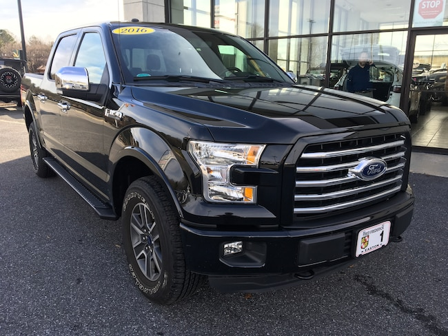 Used 2016 Ford F-150 Truck SuperCrew Cab for sale in Easton, MD