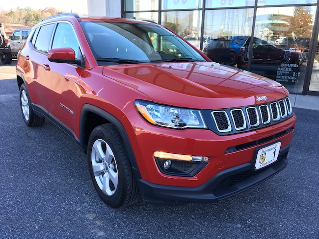 Used 2017 Jeep Compass ALTITUDE 4X4 SUV for sale in Easton, MD