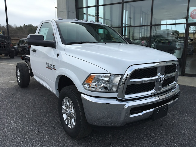 New 2018 Ram 3500 Chassis TRADESMAN REG CAB 4X4 143.5 WB / 60 CA SRW Regular Cab for sale in Easton, MD