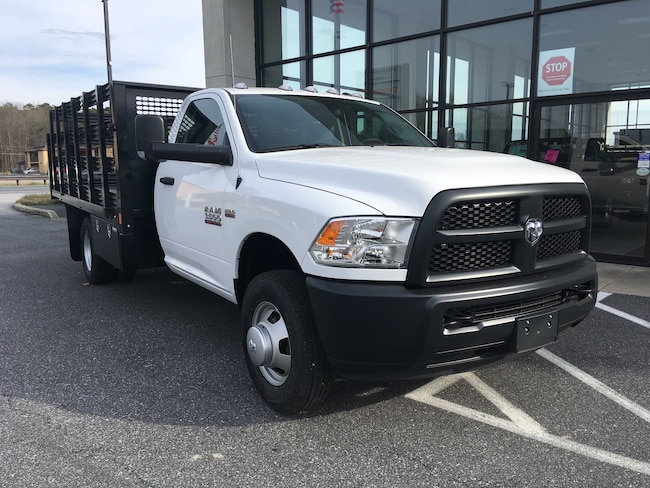 New 2018 Ram 3500 Chassis TRADESMAN REG CAB 4X2 12 FT CM STAKE BODY Regular Cab for sale in Easton, MD
