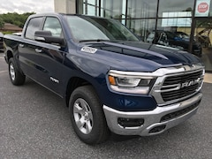 New 2019 Ram 1500 BIG HORN / LONE STAR CREW CAB 4X4 5'7 BOX Crew Cab 1C6SRFFT2KN606545 for sale in Easton, MD