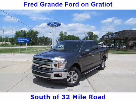 2018 Ford F-150 XLT 4X4 4-Door, NAV, Remote, ProTrailer, RearCam Truck SuperCrew Cab