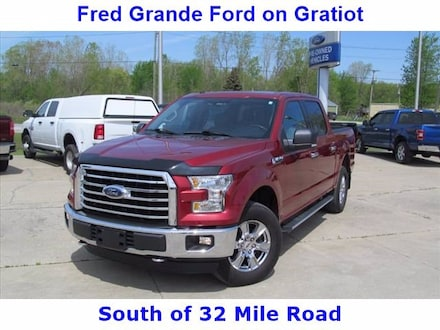 2016 Ford F-150 XLT, 4X4, ProTrailer, HeatSeats, Remote Truck SuperCrew Cab