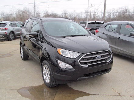 2021 Ford EcoSport SE All Wheel Drive, HeatSeats, Reverse View SE 4WD