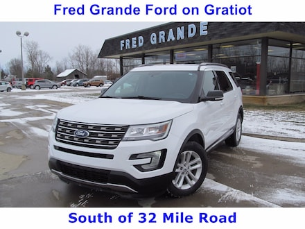 2017 Ford Explorer XLT, Lower Miles, Power Driver Seat, 3rd Row SUV