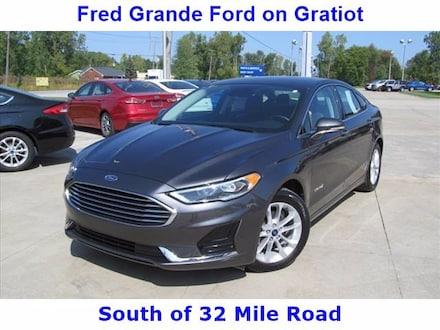 2019 Ford Fusion Hybrid SEL, 43 MPG City!  Loaded! Low Miles Sedan