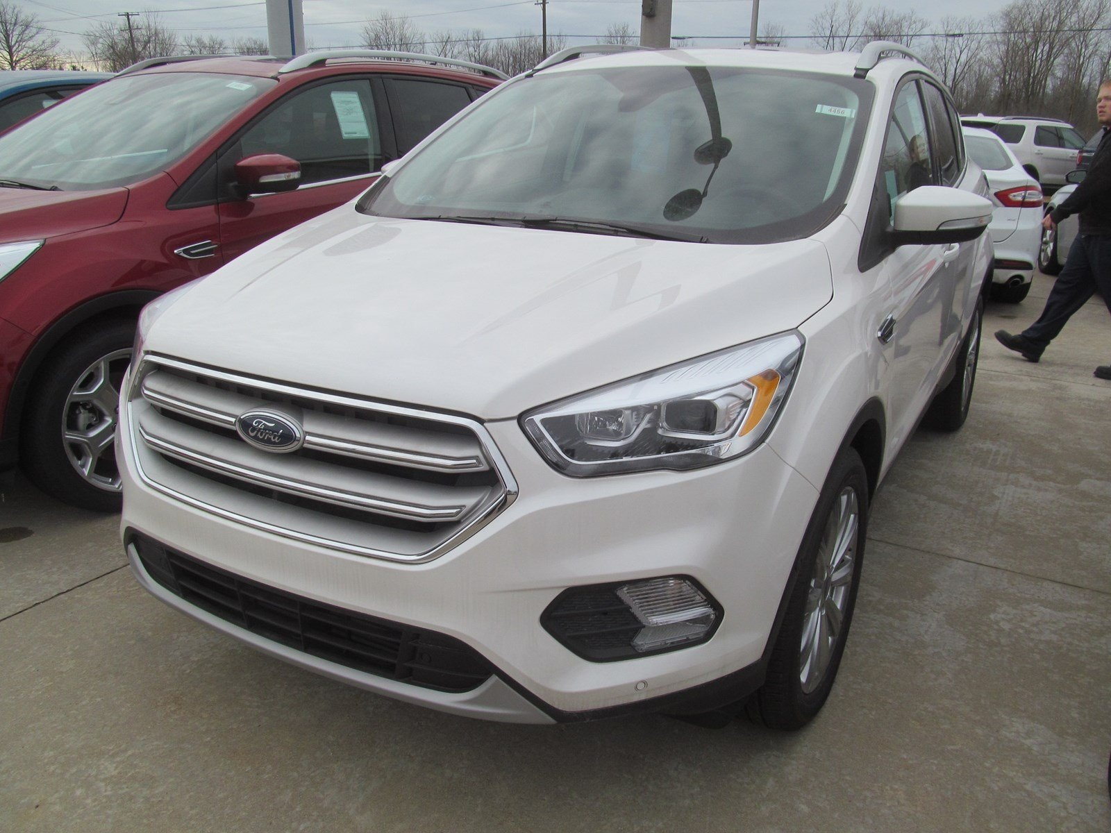 2018 Ford Escape Loaded Titanium w 4Wheel Drive & EcoBoost Titanium FWD