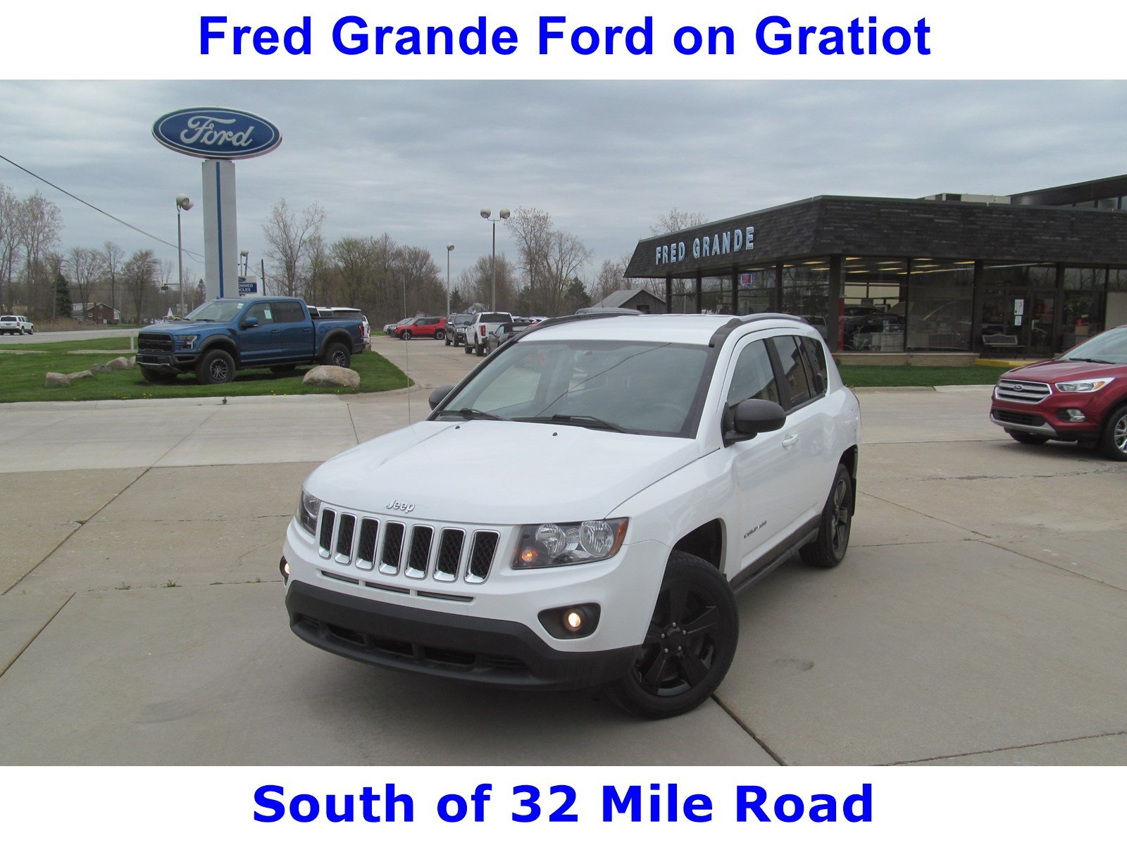 2016 Jeep Compass 4X4 Automatic SelectShift SUV