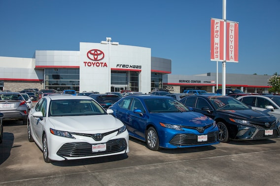 Toyota Dealers Near Me >> Toyota Dealer Near Me Houston Tx Fred Haas Toyota Country