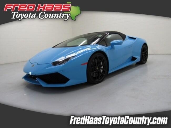 Used 2018 Lamborghini Huracan For Sale Houston Tx