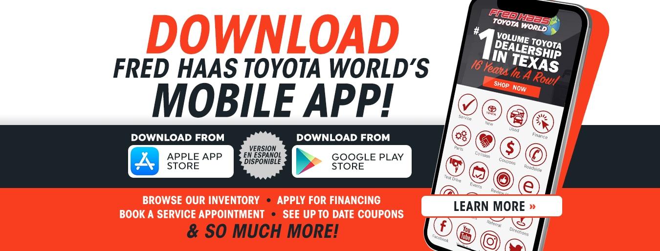 Toyota Dealership | Serve Houston, Spring, TX | Fred Haas Toyota World