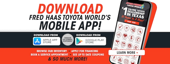 Toyota Dealership | Serve Houston, Spring, TX | Fred Haas