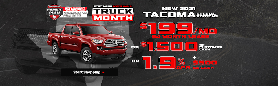 New 2021 Toyota Tacoma Special Edition