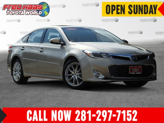 2015 Toyota Avalon For Sale >> Used 2015 Toyota Avalon For Sale Spring Tx 4t1bk1eb5fu159838