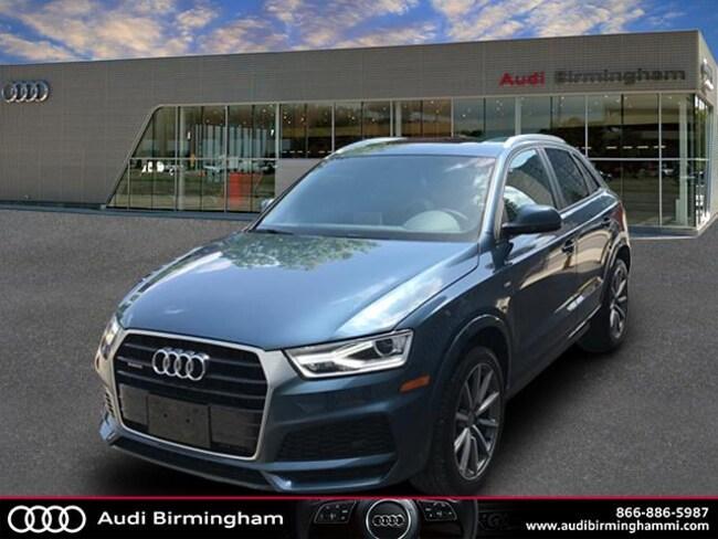 New 2018 Audi Q3 2.0T Sport Premium SUV Birmingham, MI