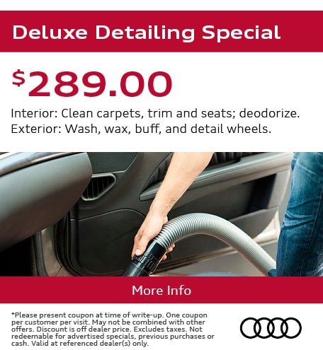 Deluxe Detailing Special