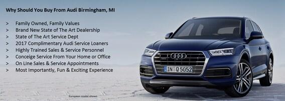 Audi Dealer In Birmingham MI Near Detroit Troy Michigan - Audi detroit