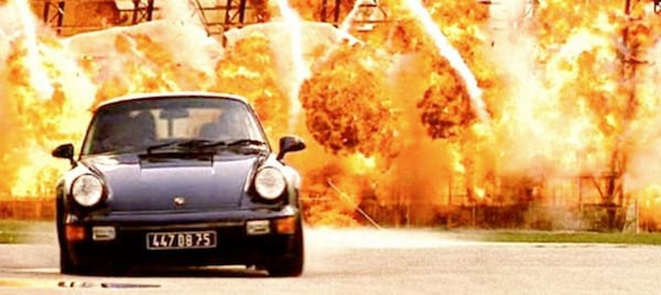 Porsche 911 in Bad Boys