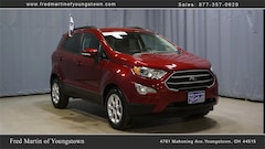 Used 2020 Ford EcoSport for sale in Youngstown