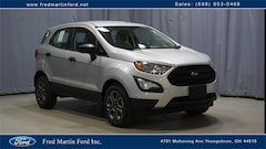 Buy a 2021 Ford EcoSport S Crossover for sale Youngstown