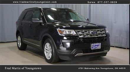 Buy a 2018 Ford Explorer XLT SUV in Youngstown, OH