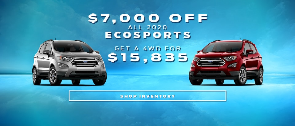 2020 EcoSport Offer
