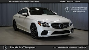 Featured Pre-Owned 2019 Mercedes-Benz C-Class C 300 Coupe for sale near you in Youngstown, OH