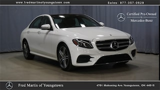 Certified Pre-Owned 2019 Mercedes-Benz E-Class E 300 Sedan P8402 for sale near you in Youngstown, OH