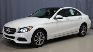 Featured Pre-Owned 2015 Mercedes-Benz C-Class C 300 4MATIC Sedan for sale near you in Youngstown, OH