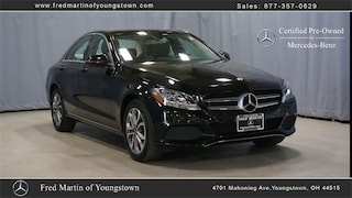 Certified Pre-Owned 2018 Mercedes-Benz C-Class C 300 Sedan P8477 for sale near you in Youngstown, OH