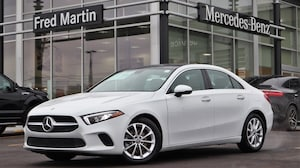 Featured Pre-Owned 2020 Mercedes-Benz A-Class A 220 Former Courtesy Vehicle Sedan for sale near you in Youngstown, OH