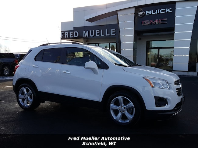 2016 Used Chevrolet Trax For Sale Schofield Wi Vin