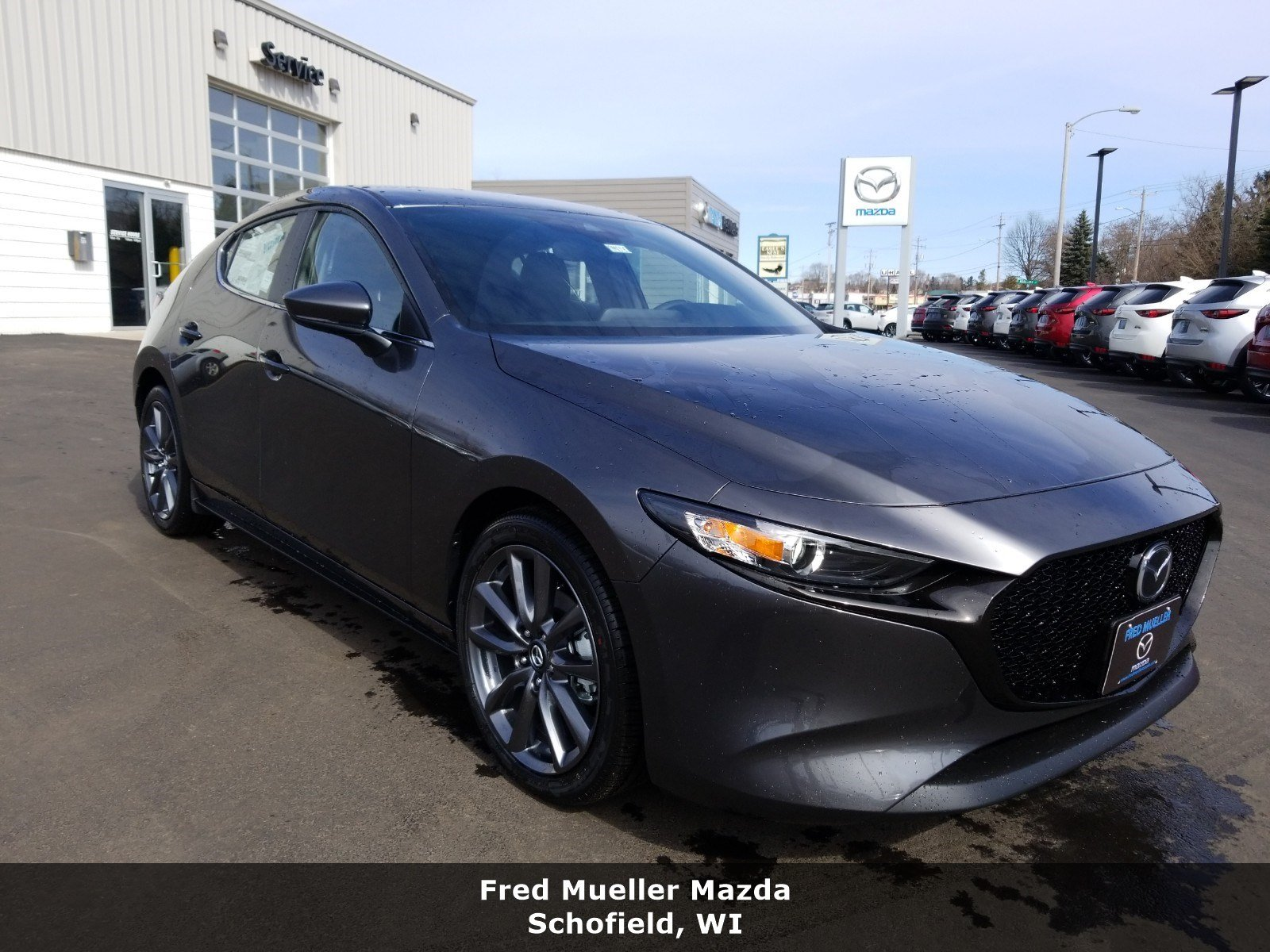 Featured new Mazda vehicles 2019 Mazda Mazda3 for sale near you in Schofield, WI