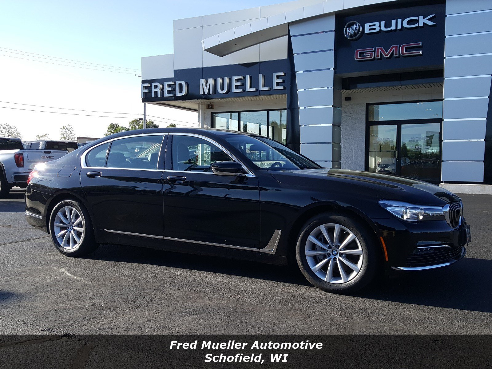 Featured pre-owned vehicles 2017 BMW 740i xDrive Sedan for sale near you in Schofield, WI