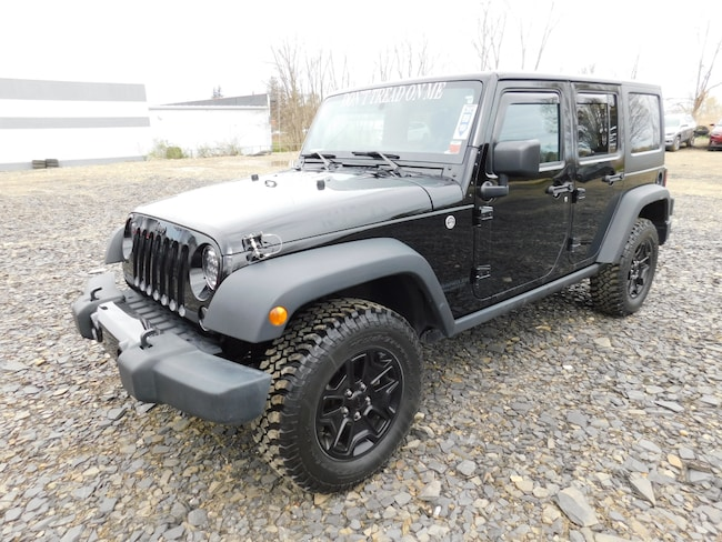 Used 2017 Jeep Wrangler JK Unlimited Sport 4x4 SUV in Fredonia