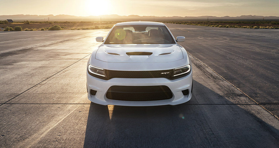 White 2016 Dodge Charger SRT Head-Turning Design Exterior