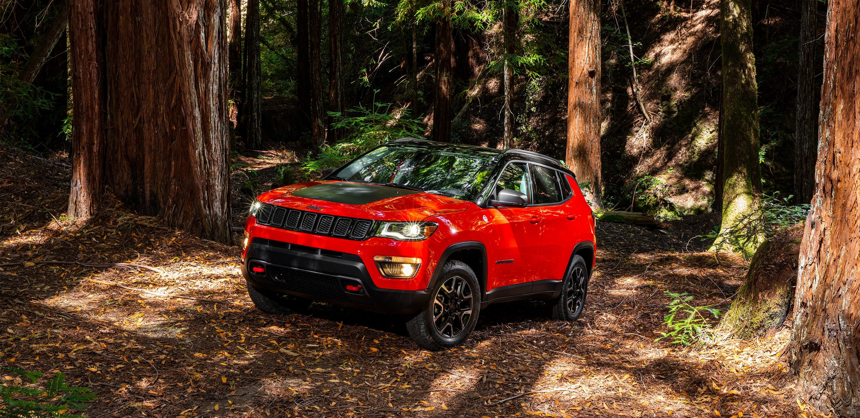 2017 Jeep Compass Front Exterior