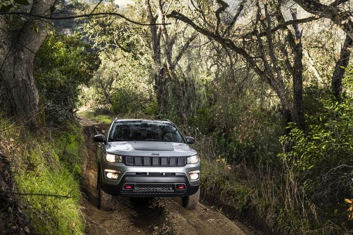 2017 All-New Jeep Compass Front Exterior Off Road