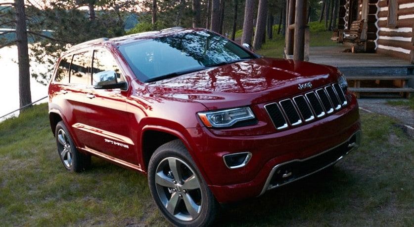 2016 Jeep Grand Cherokee on Mountain